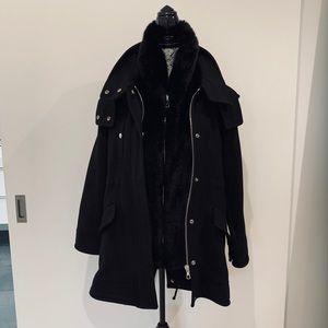 Zara Studio wool coat